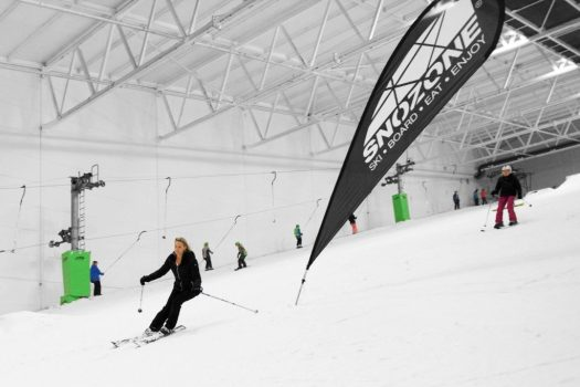 Snozone - Milton Keynes- Photo courtesy of Ridestore Magazine. A Quick Guide to Indoor Skiing & Dry Slopes In The UK.