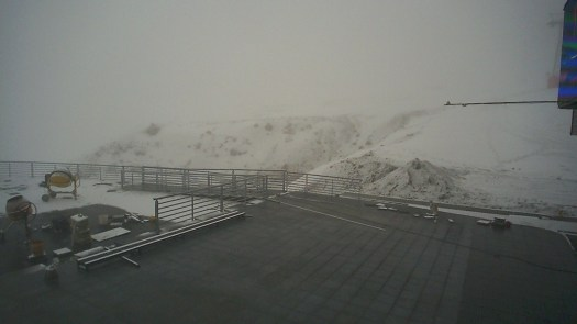 Valle Nevado photo 13 June. Does the snow in the Northern Hemisphere correlates with the Southern Hemisphere?