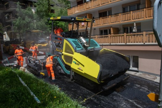 MacRebur was chosen to re-surface a road in Zermatt with waste plastic mixed with asphalt. Zermatt to try recycled plastic 'green' road re-surfacing project.