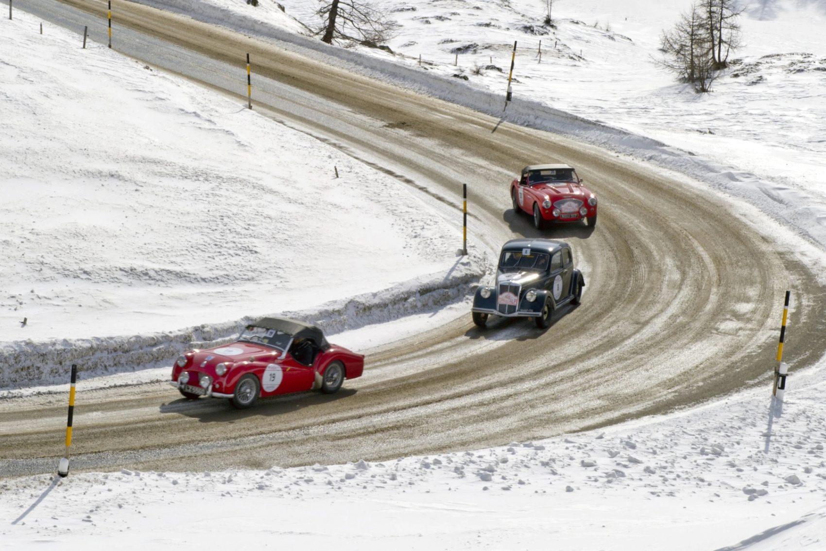 The Mille Miglia is coming to the Alps- Coppa delle Alpi. Photo: Coppa delle Alpi.