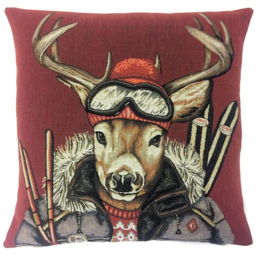 This deer cushion is calling out to be in your sofa!