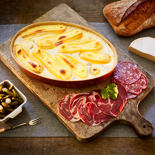 An example of a Tartiflette delivered by Huski. So, you want to take your family skiing, but you do not know where to start?