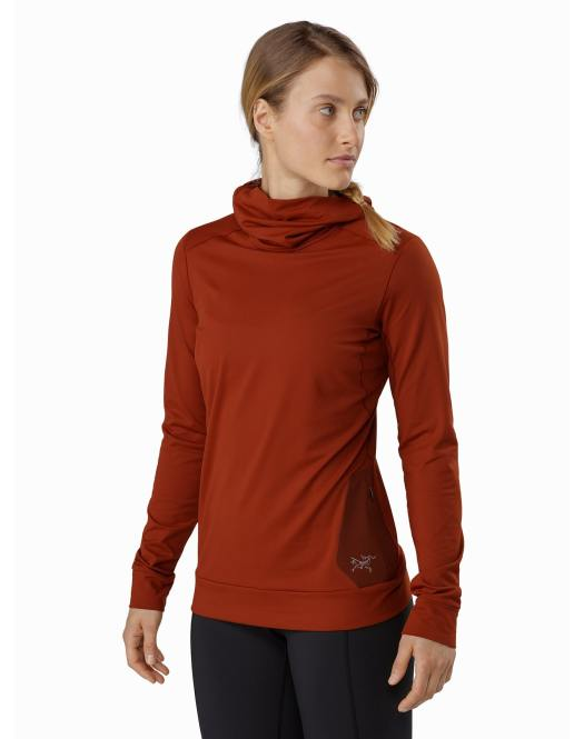 The Vertices Hoody for Women. Gear Review: Arc'teryx's base layers for the season.