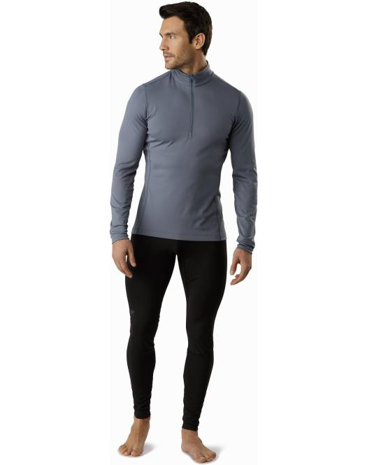 The Phase AR Zip Neck with a high colour and a deep zip to control body temperature. Gear Review: Arc'teryx's base layers for the season.
