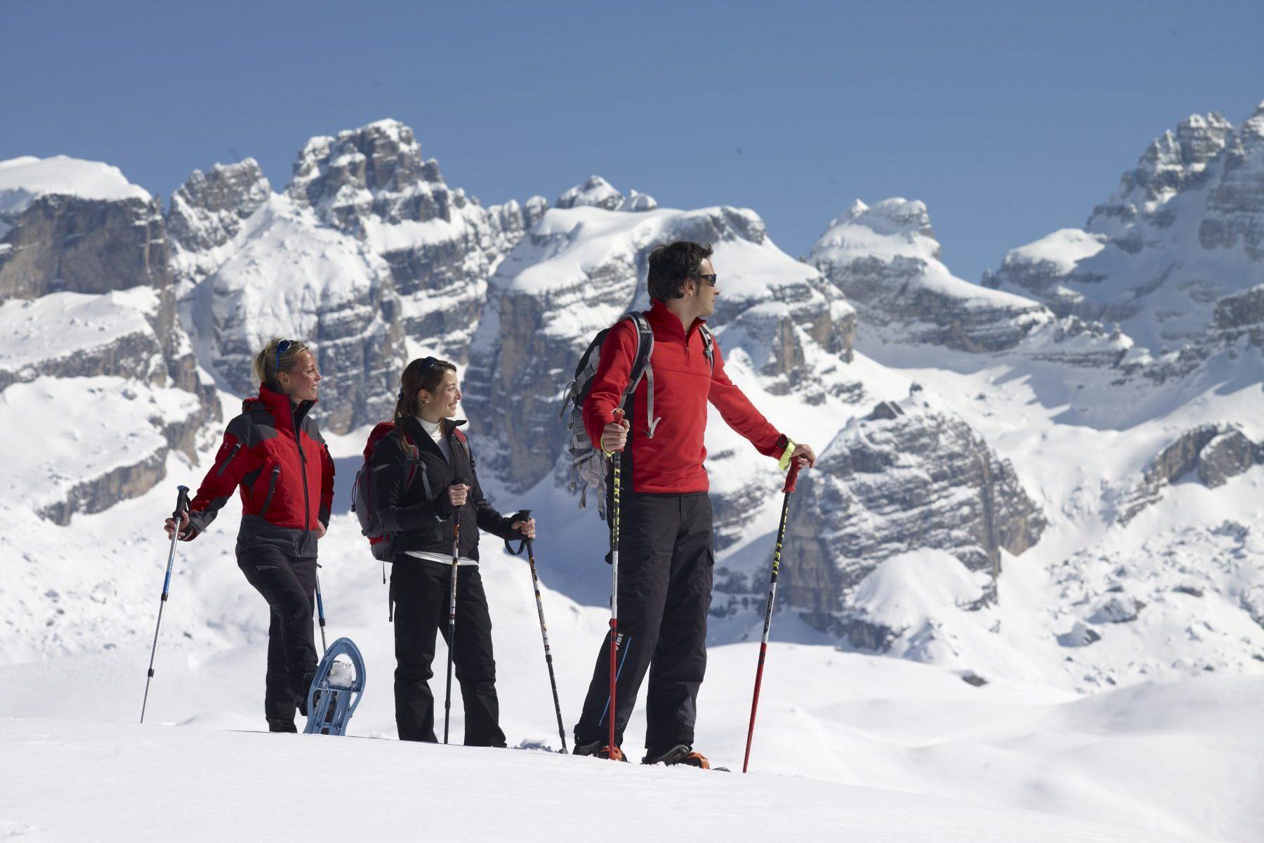 Madonna di Campiglio. Photo. C. Baroni. The Ski Area Campiglio Dolomiti di Brenta is opening its 2019/20 ski season. News of the resort.