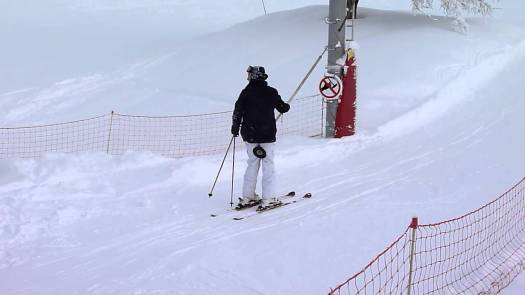 Button lift or Poma lift. Different types of lifts on resorts (I can think of) and how to ride them.