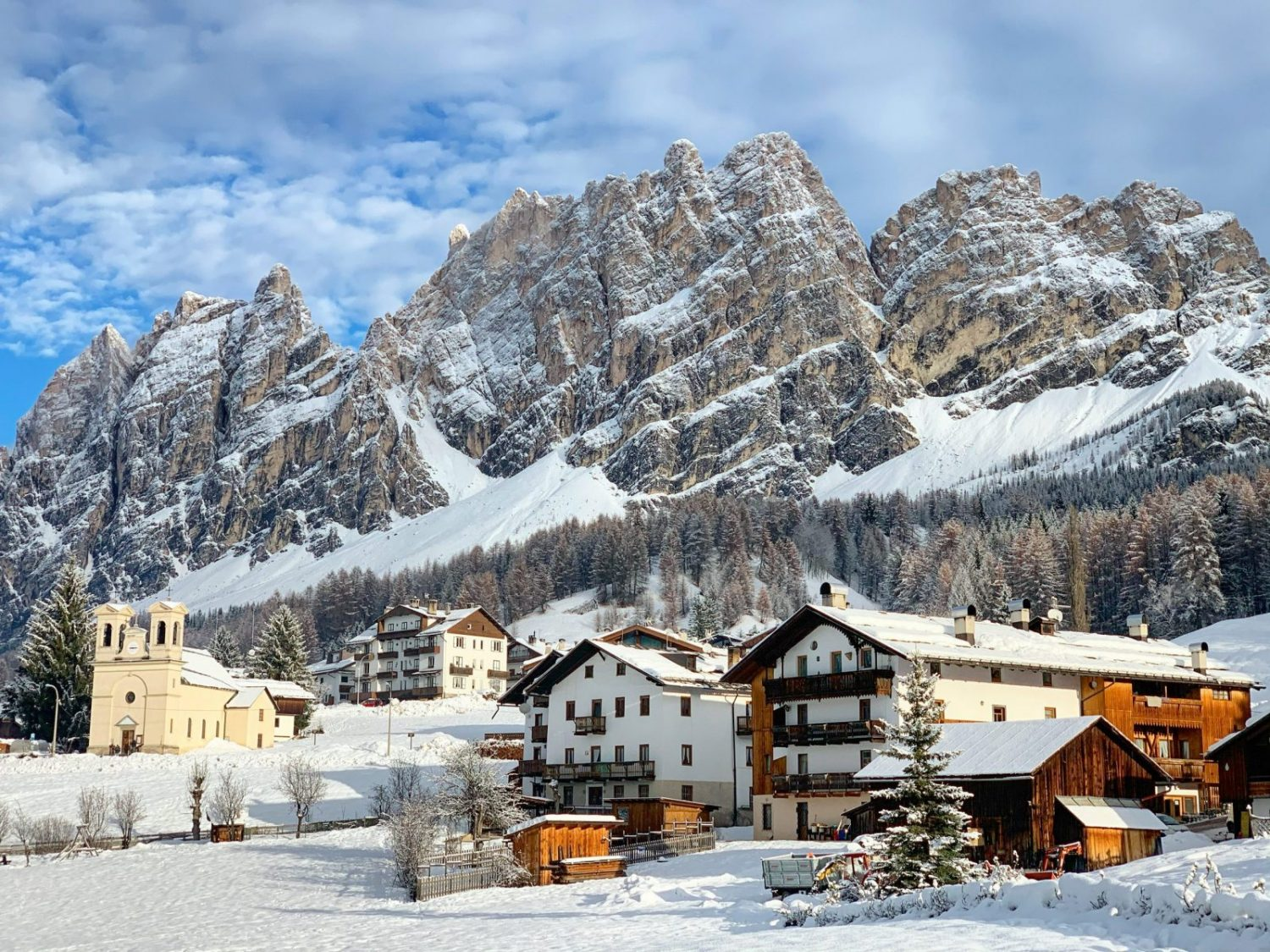 Cortina d'Ampezzo. Credits: Cortina Marketing. Cortina, an example of resilience in the tourism sector.