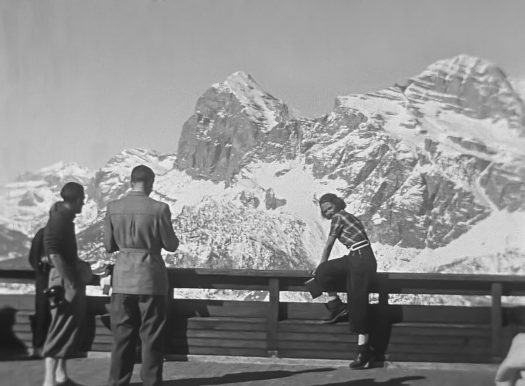 Foto Storiche Video Archivio Storico Giuseppe Ghedina 1898-1986_Manaz Productions. Cortina, an example of resilience in the tourism sector.