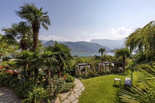 Park and view of the Haus am Hang. Book your stay at the Haus am Hang here. A Must-Read Guide to Summer in South Tyrol.