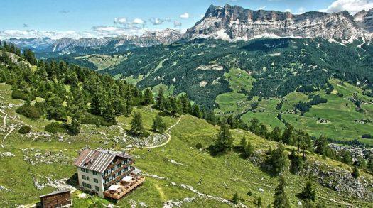 Rifugio Gardenaccia. A stop after the Via Ferrata Las Cordes. A Must-Read Guide to Summer in South Tyrol.
