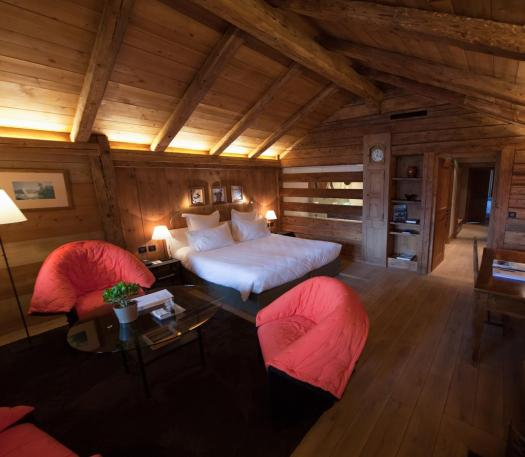 A room at the Hameau Albert Premier. Book your stay at Le Hameau Albert 1er here. Must-Read Guide to Chamonix.