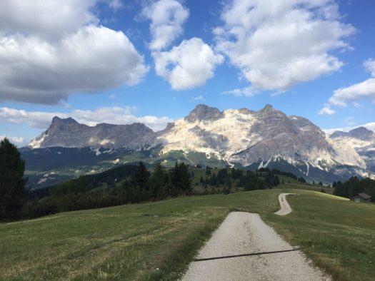 A path to rifugio Bioch in Alta Badia. Photo: The-Ski-Guru. A Must-Read Guide to Summer in South Tyrol.