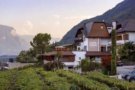 Exterior of the Hotel Haus am Hang. Book your stay at the Haus am Hang here. A Must-Read Guide to Summer in South Tyrol.