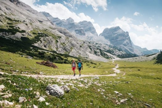 4 Peaks by Alex Moling. Alta Badia Tourism Board. Alta Badia offers you lots of hiking trails amidst pastures at altitude. Planning your summer in the mountains of Alta Badia.
