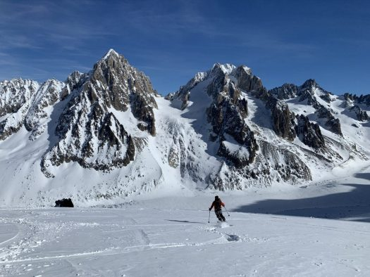 Ski de Randonnée in Chamonix. Photo: Christophe Raylat. OT Chamonix. Must-Read guide to Chamonix.