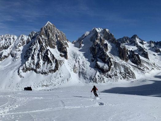 Ski de Randonnée in Chamonix. Photo: Christophe Raylat. OT Chamonix. Must-Read guide to Chamonix.