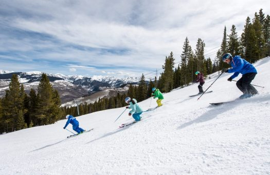 Adult Ski School at Vail, CO. Photo: Tom Cohen. Vail Resorts. The Must-Read Guide to Vail.