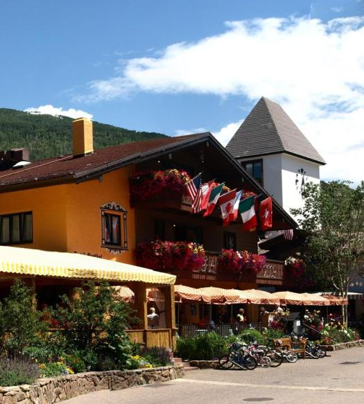 The Gasthof Granshammer in summer. The Must-Read Guide in Vail. Book your stay at the Gasthof Gramshammer here.