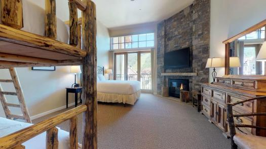 A room of one condominium at the Landmark. The Must-Read Guide to Vail. Book your stay at the Landmark here.