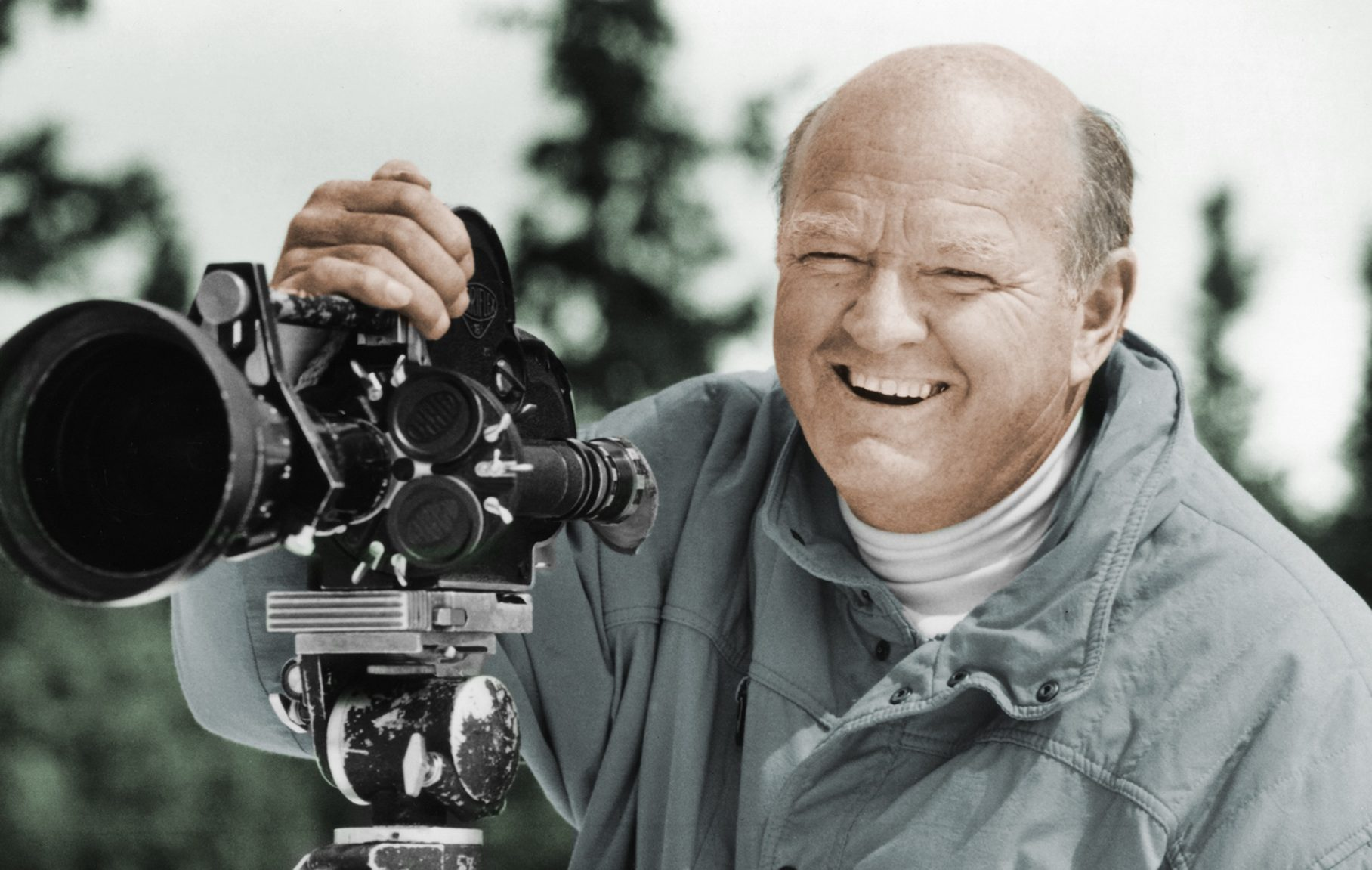 Warren Miller and his camera. Ski Bum- The Warren Miller Story- A Review.