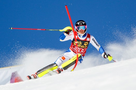 Slalom racer Frida Hansdotter at the Audi FIS Alpine Ski World. To extend or not to extend… that is the question.