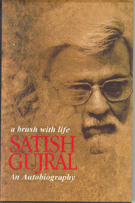 Book reviewA Brush with life by Satish Gujral