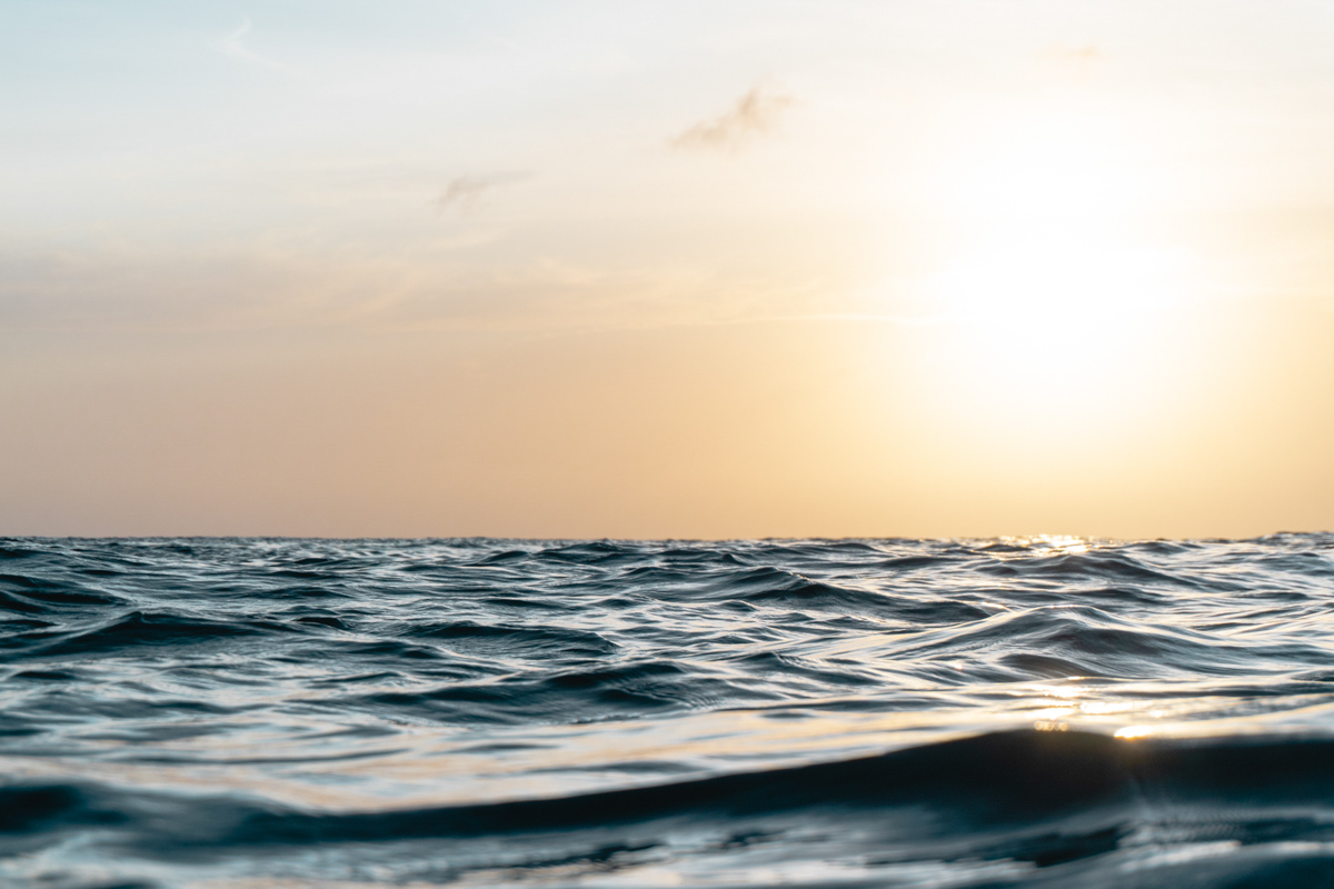 Sunset at Cozumel during surface interval. Shot with Sony Alpha + Ikelite Housing