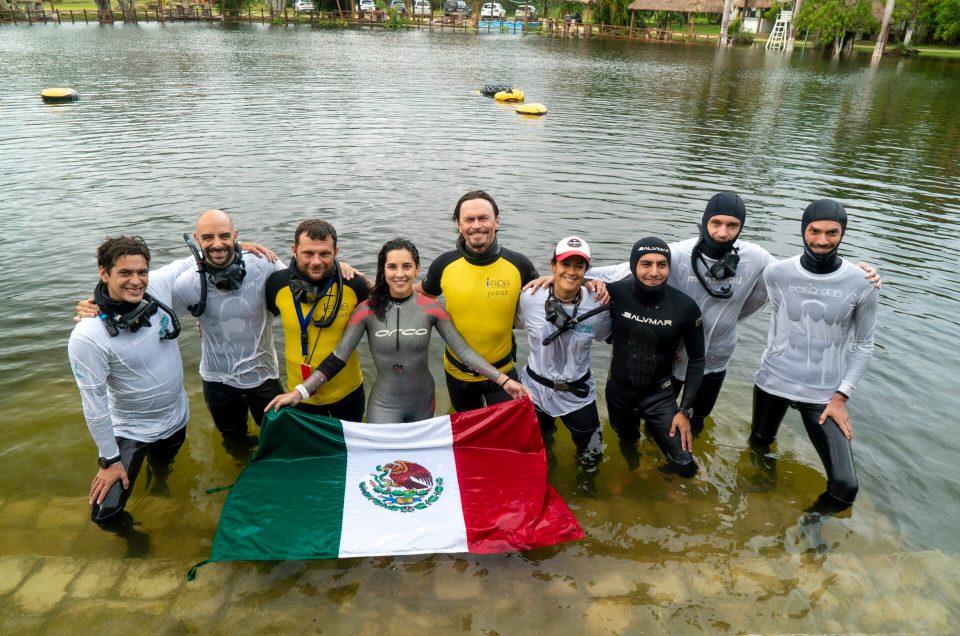 THE STILLS | Nuevo Récord Nacional en apnea para Camila Jaber