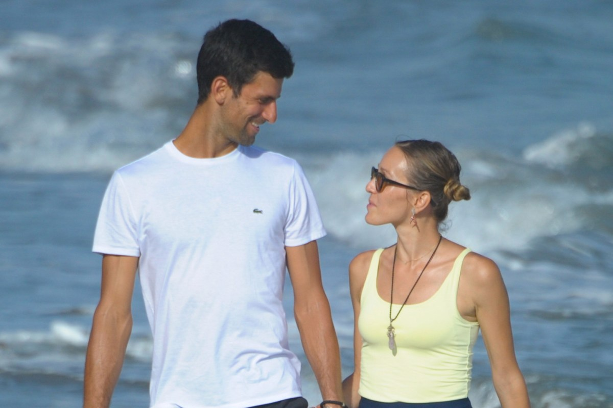 Novak Djokovic Would Like His Two Children To Follow His Lead And Play Professional Tennis