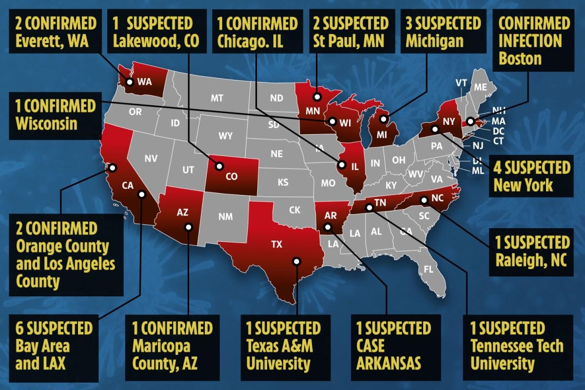 Coronavirus outbreak – 12 cases of China virus confirmed in US as ...