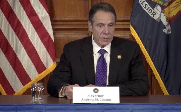 Cuomo asked who was ultimately responsible for the spread of the pandemic to the extent that it