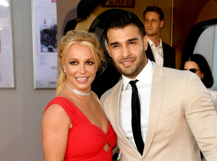 Britney has been dating boyfriend Sam for four years