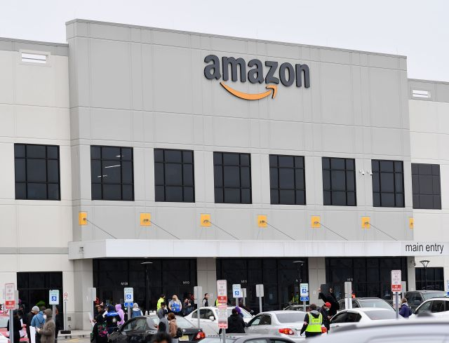 Amazon workers joined forces with four other major companies to protest on May 1