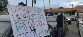 LA McDonald's Employees Walkout Over Lack of Coronavirus Protection After Worker Tests Positive