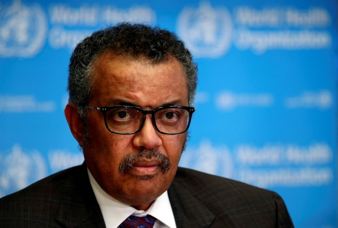 WHO Director-General Tedros Adhanom Ghebreyesus defended the actions of the organization