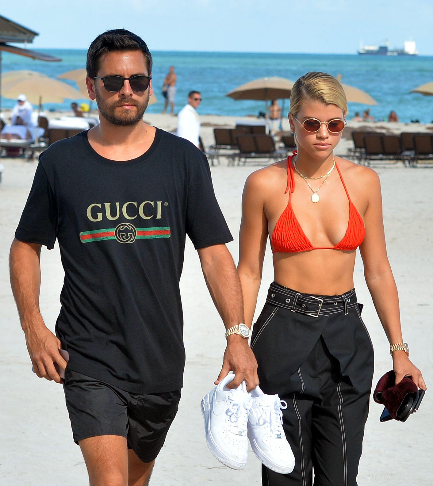 It comes despite Scott splitting from Sofia Richie