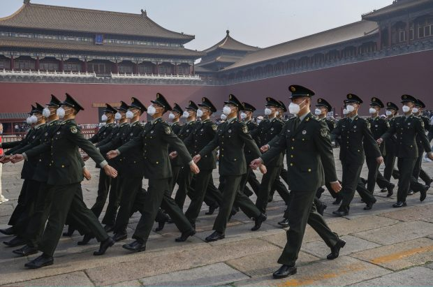 China has been accused of attempting to spread disinformation on the virus