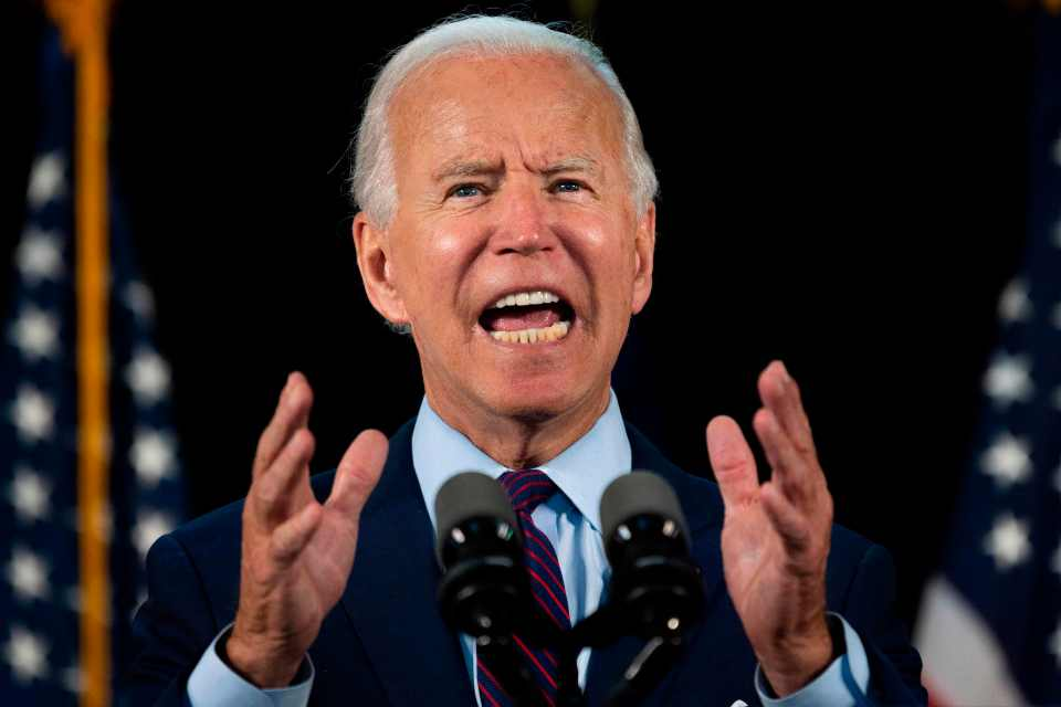 Biden's campaign said the Democratic nominee will speak on what he believes as Trump's 'failure to mobilize an effective response' to the pandemic