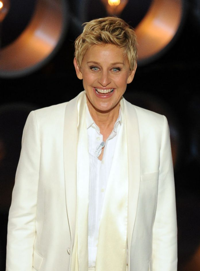 Ellen DeGeneres is `` at the end of her rope '' because rumors say that she is `` nasty '' and `` cheap '' creeping in the middle of the lock