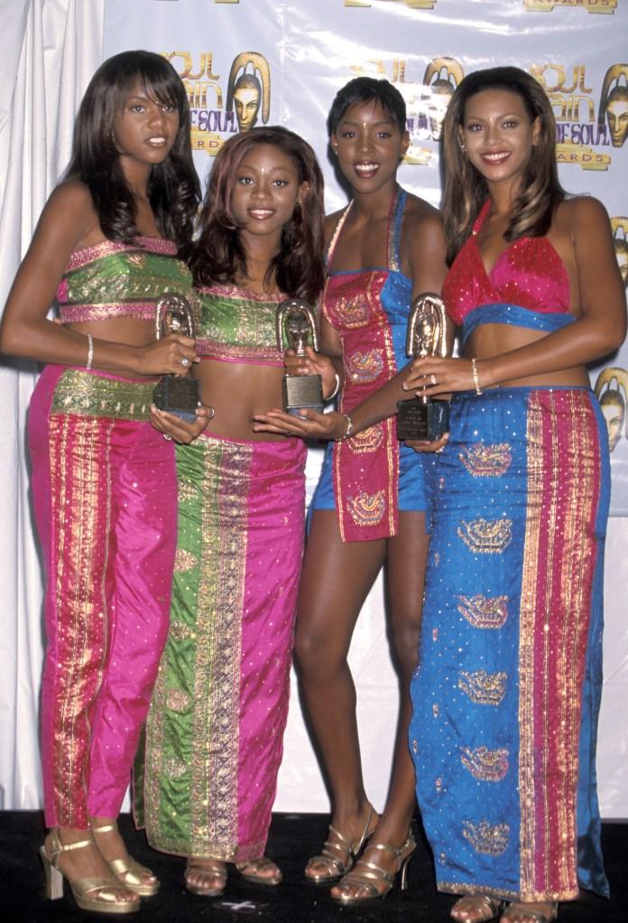LeToya Luckett, LaTavia Robertson, Kelly Rowland, and Beyonce Knowles