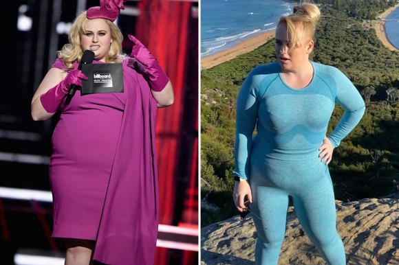 Rebel Wilson looks slim during a hike in Sydney as she ...