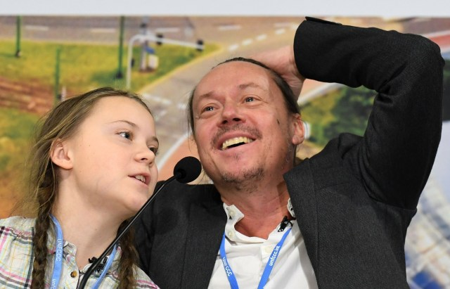 The pranksters posed as Greta Thunberg and her dad Svante