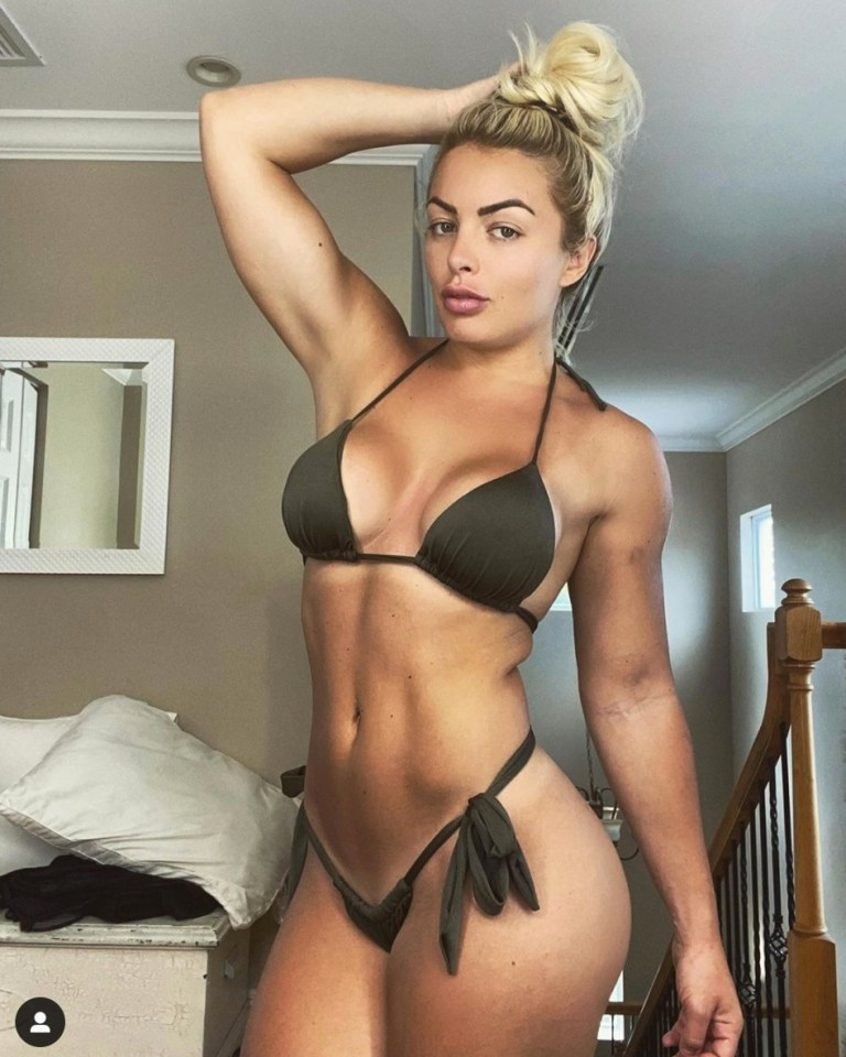 Mandy Rose was a fitness model before becoming a professional wrestler
