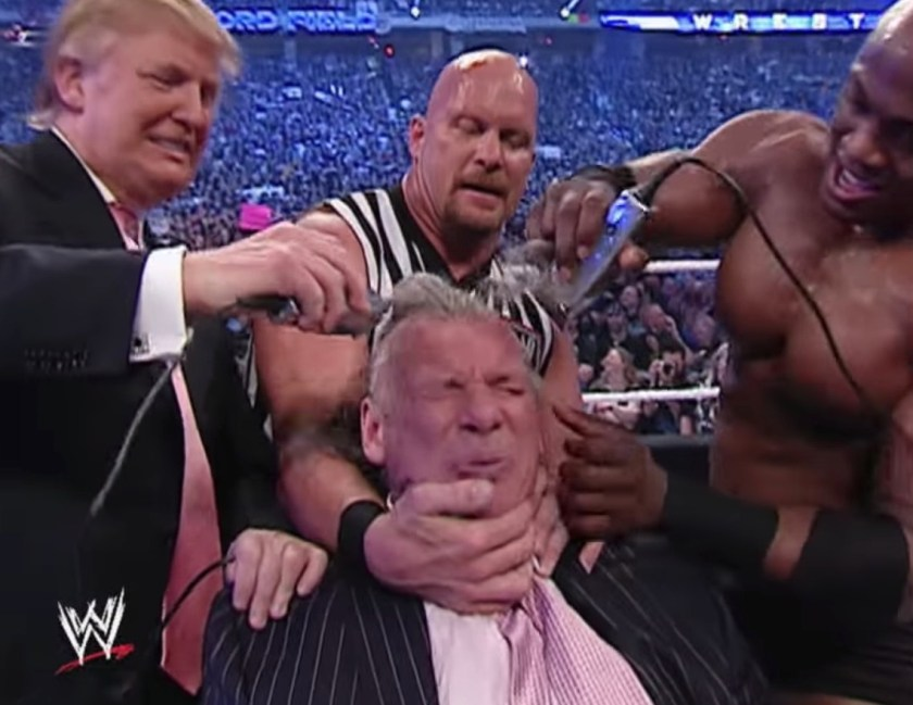 Vince McMahon lost the Battle of the Billionaires and had to have his head shaved