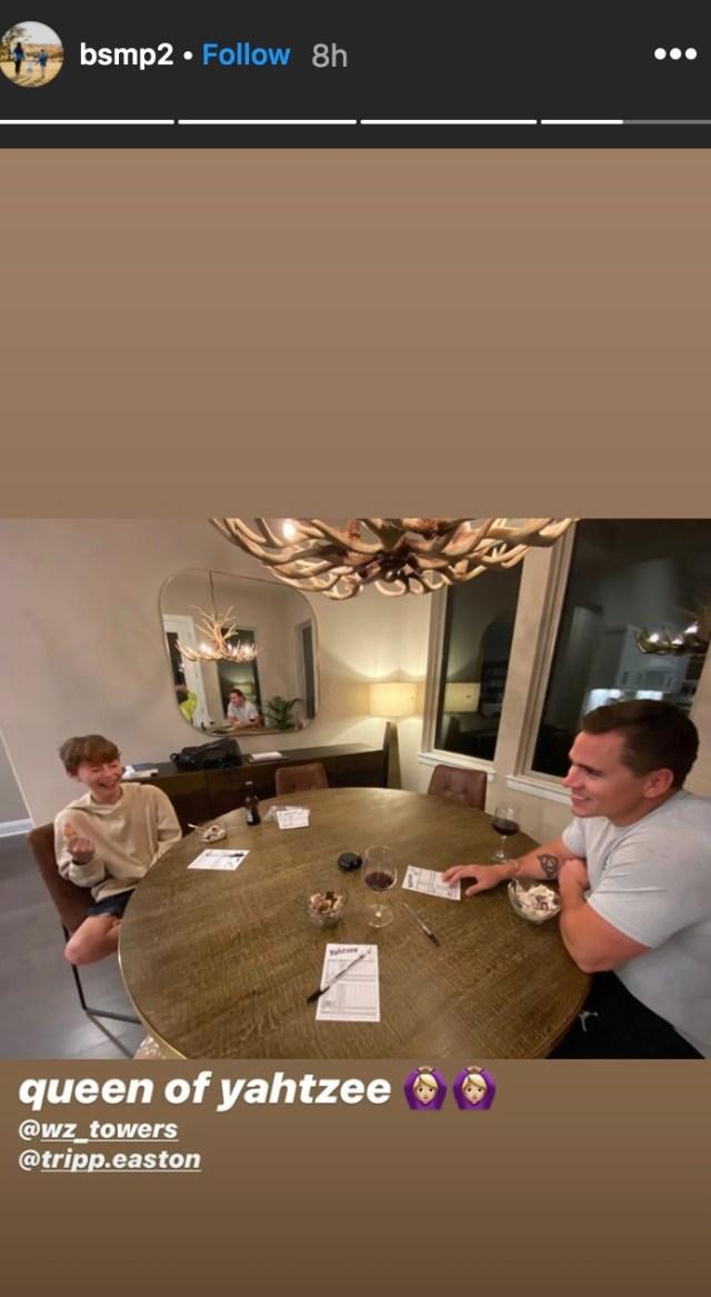 Bristol Palin revealed her 11-year-old son Tripp has met new boyfriend Zach Towers