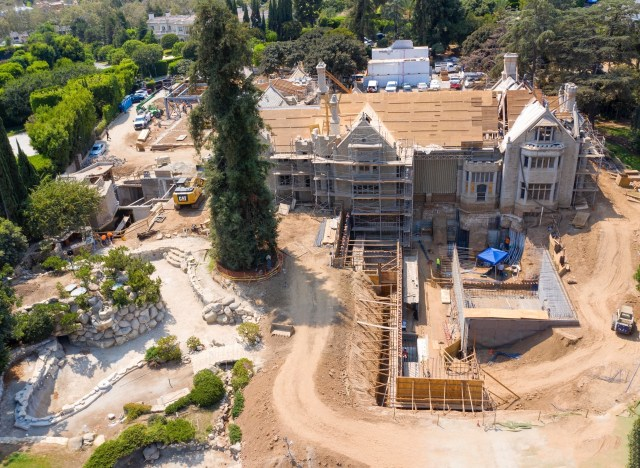 Metropoulos promised to maintain the mansion's famous exterior