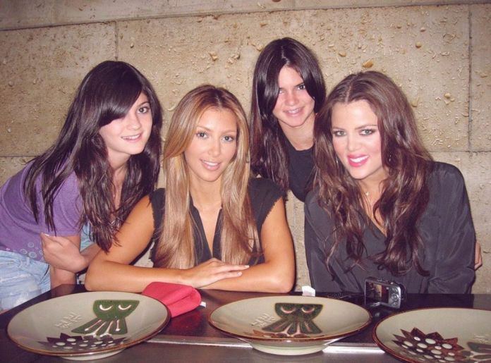 It comes after Kylie told her sister Kim Kardashian to delete a throwback picture of the four sisters when Kylie was a young teenager
