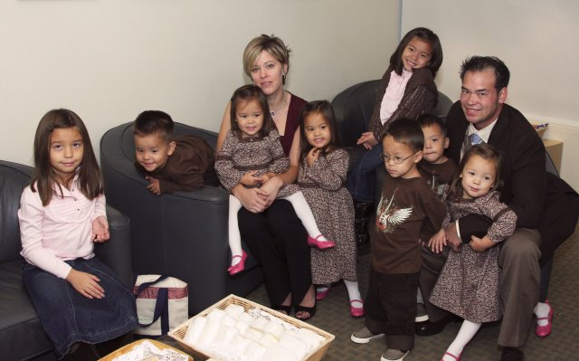 The former couple, along with their eight kids, shot to stardom on their TLC show