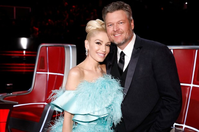 """Gwen and Blake plan to go """"all-out"""" for their wedding, but the source further explained that 'it won't be the end of the world if they have to move things back till the fall'"""
