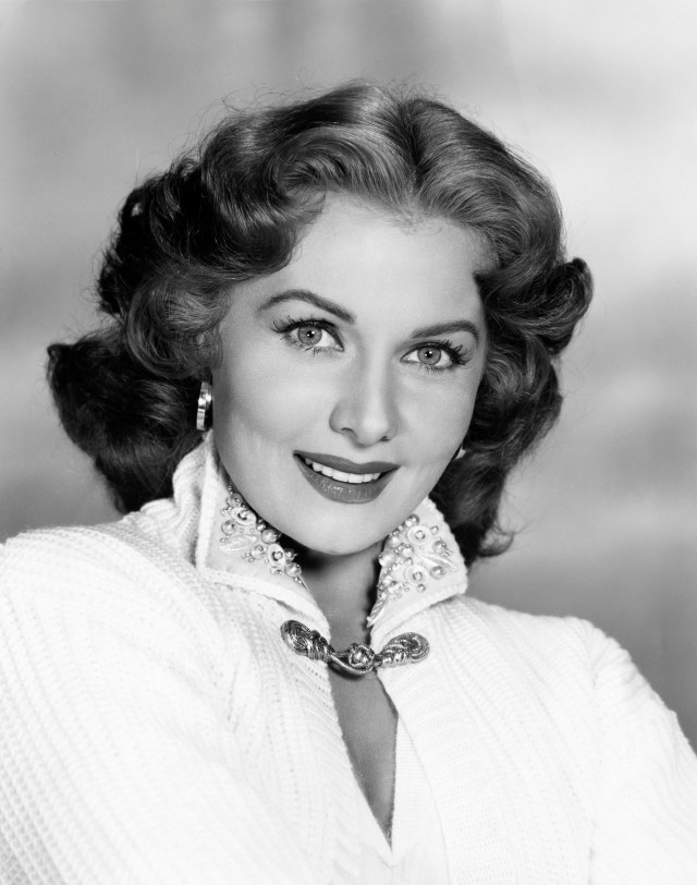 Rhonda Fleming was a popular Hollywood actress in the 1940's and 1950's